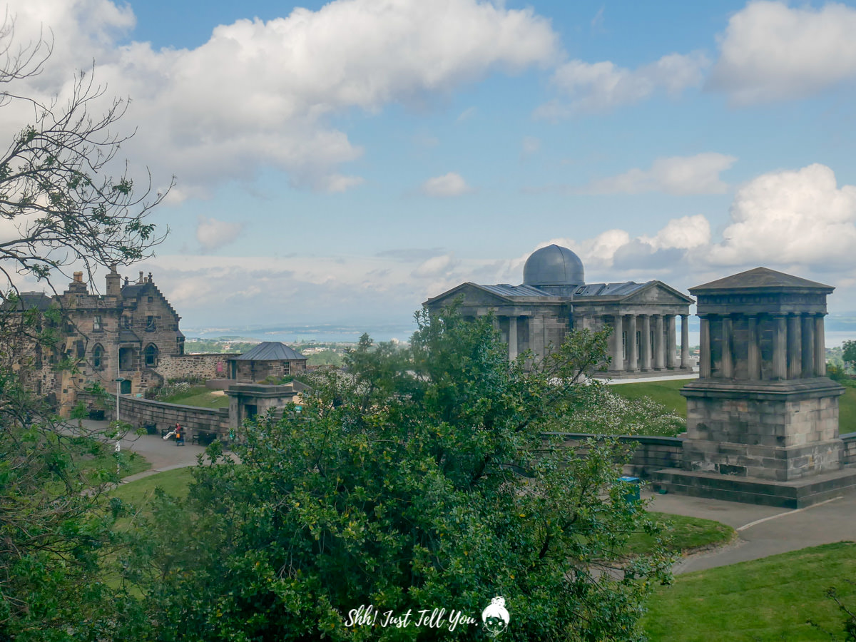 愛丁堡市立天文台(City Observatory, Edinburgh)