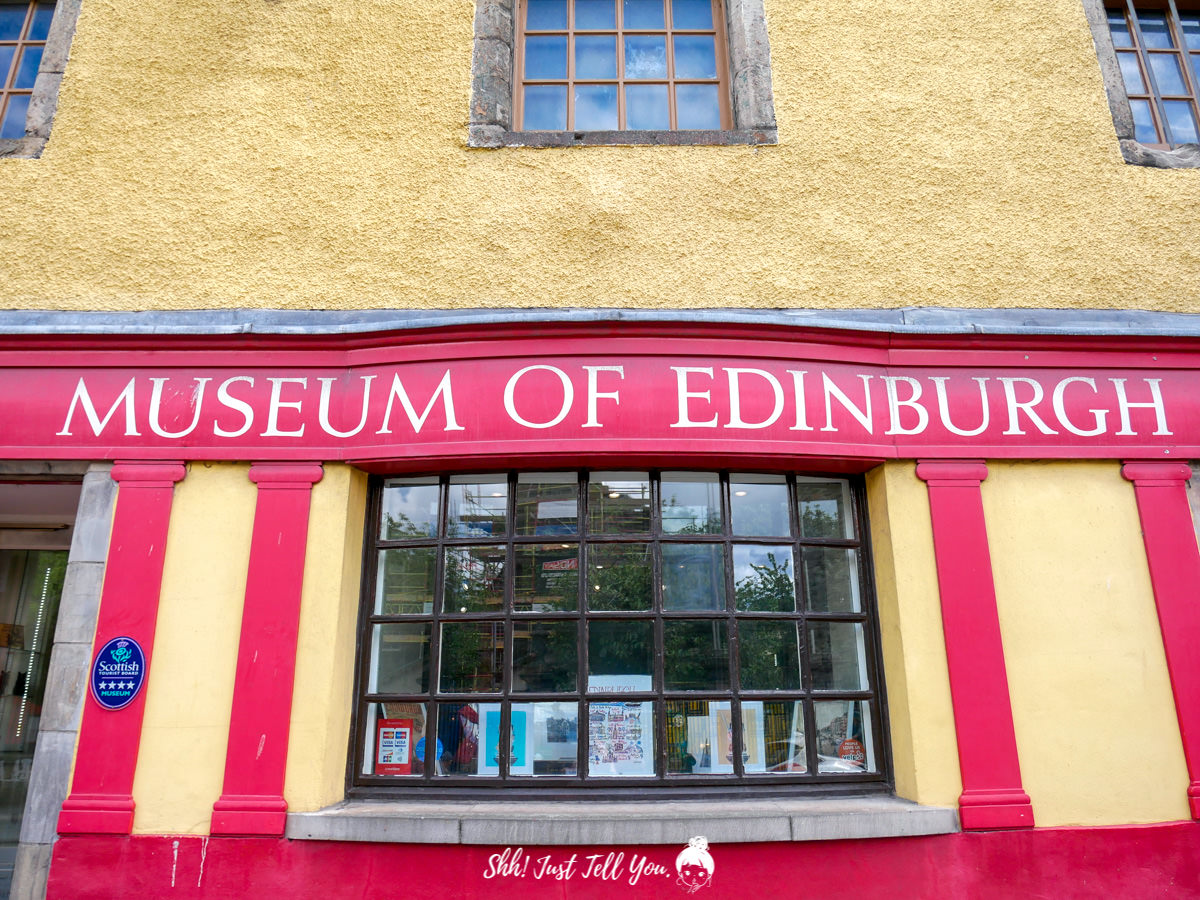 museum of Edinburgh 愛丁堡博物館