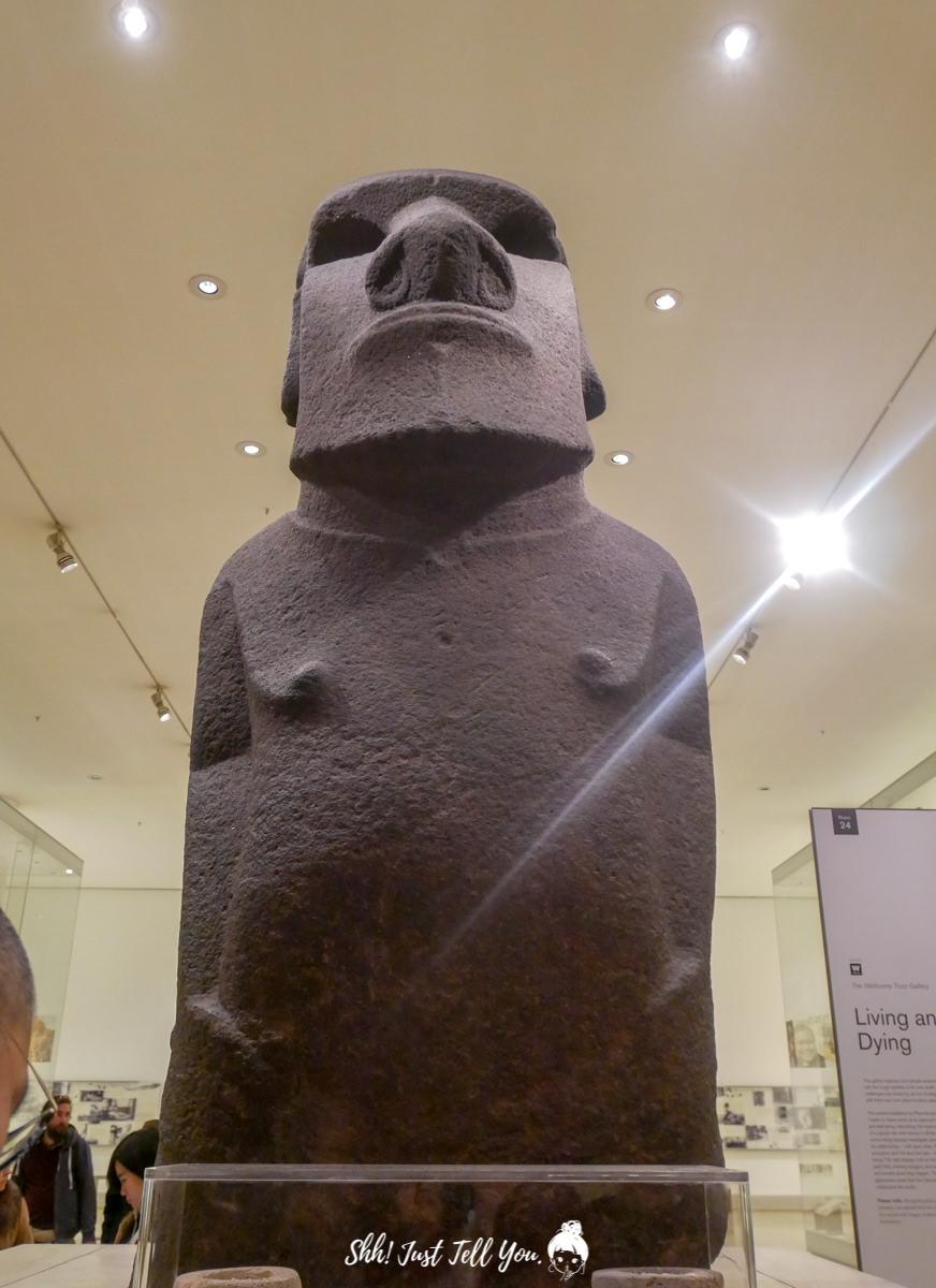 大英博物館 british museum 摩艾石像