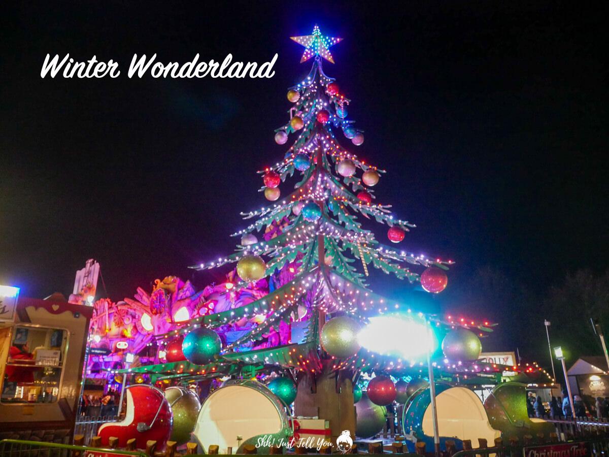Hyde Park Winter Wonderland 海德公園冬季遊樂園