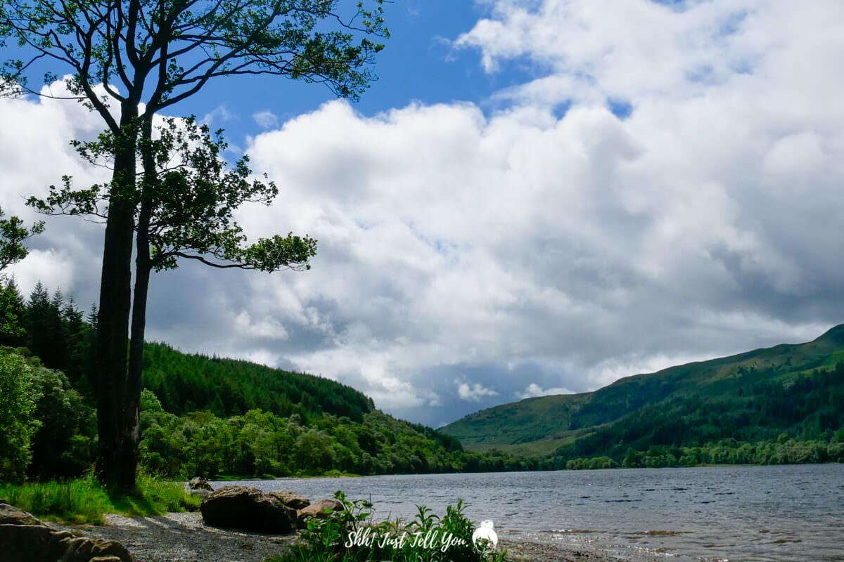 羅蒙湖 Loch Lomond蘇格蘭高地scotland highland極光旅遊英國、蘇格蘭高地|一路向天空島(Skye Island)前進