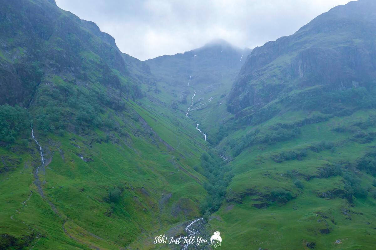 格倫科峽谷 Glencoe蘇格蘭高地scotland highland極光旅遊英國、蘇格蘭高地 一路向天空島(Skye Island)前進