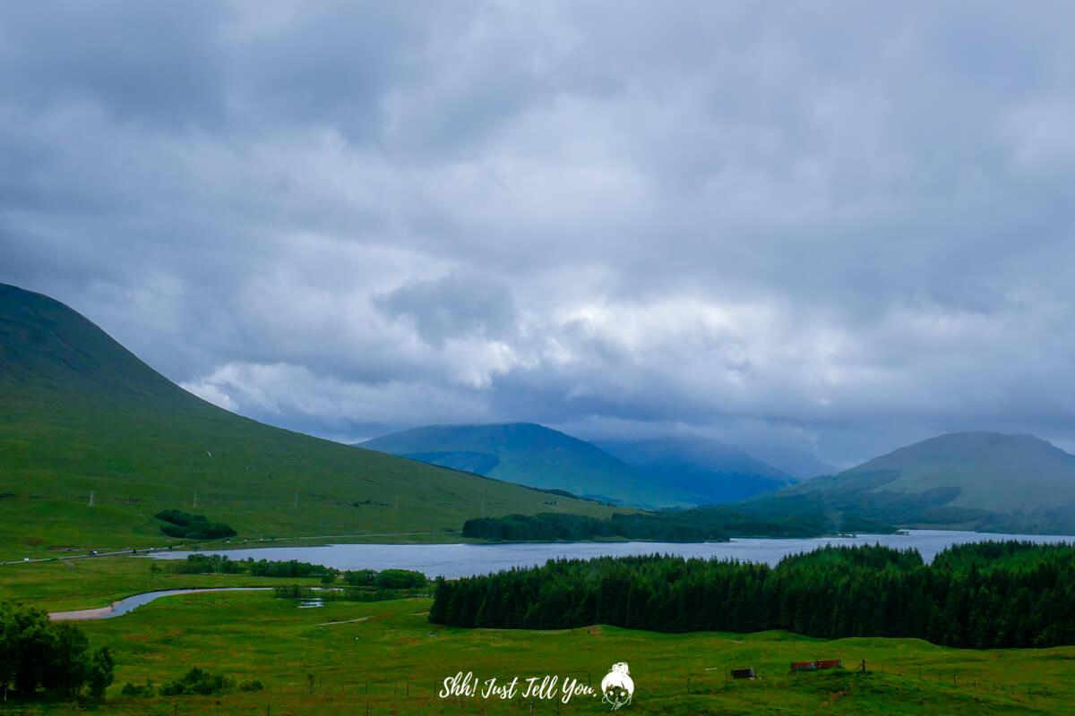 蘇格蘭高地(Scottish Highlands)蘇格蘭高地scotland highland極光旅遊英國、蘇格蘭高地|一路向天空島(Skye Island)前進