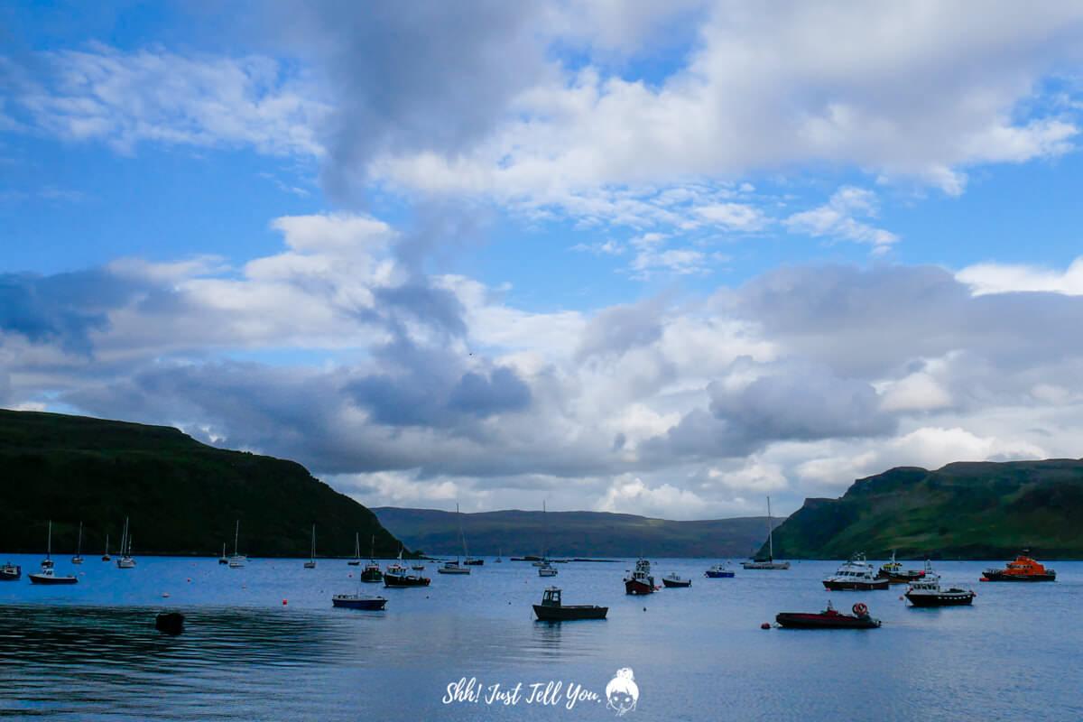 天空島 Isle of Skye波特里小鎮Portree