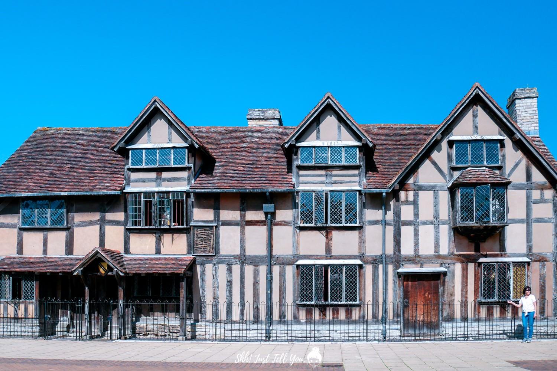shakespeare 莎士比亞出生地
