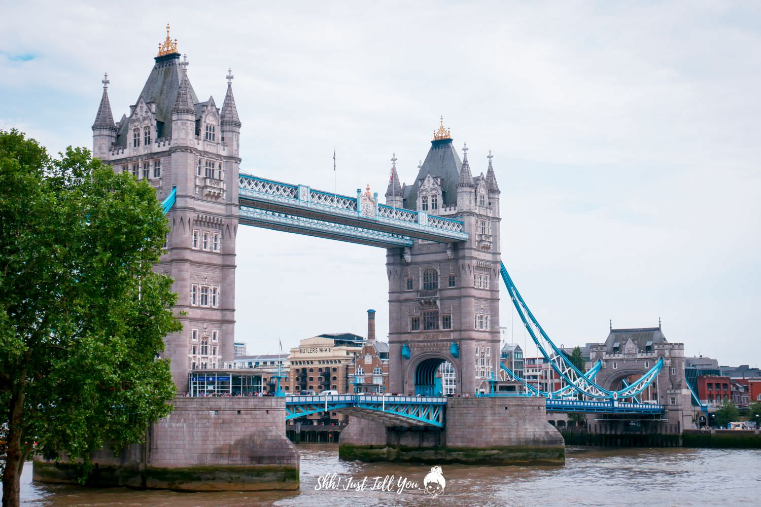 Tower of London 倫敦塔、倫敦塔橋 Tower Bridge
