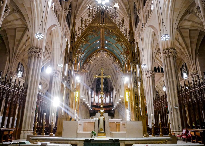 紐約聖派翠克教堂 (St. Patrick's Cathedral)