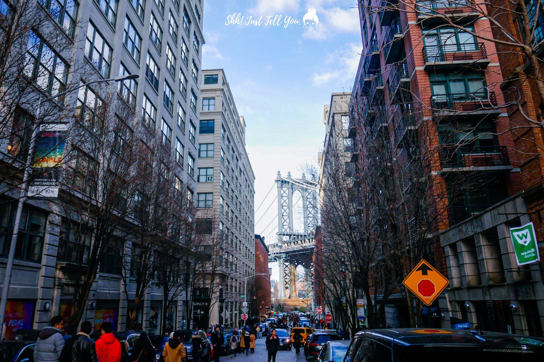 布魯克林大橋、曼哈頓橋、DUMBO區