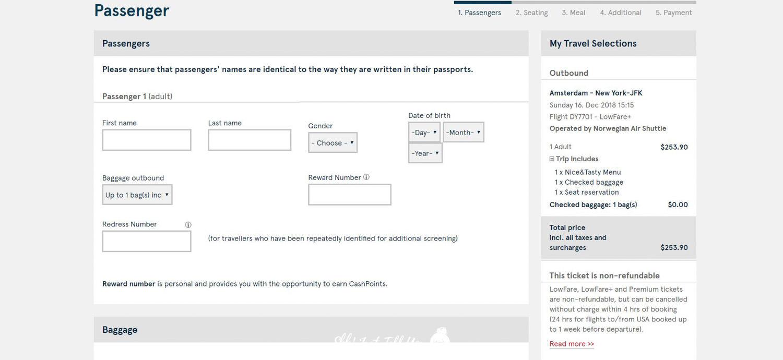 挪威航空Norwegian便宜機票訂票教學