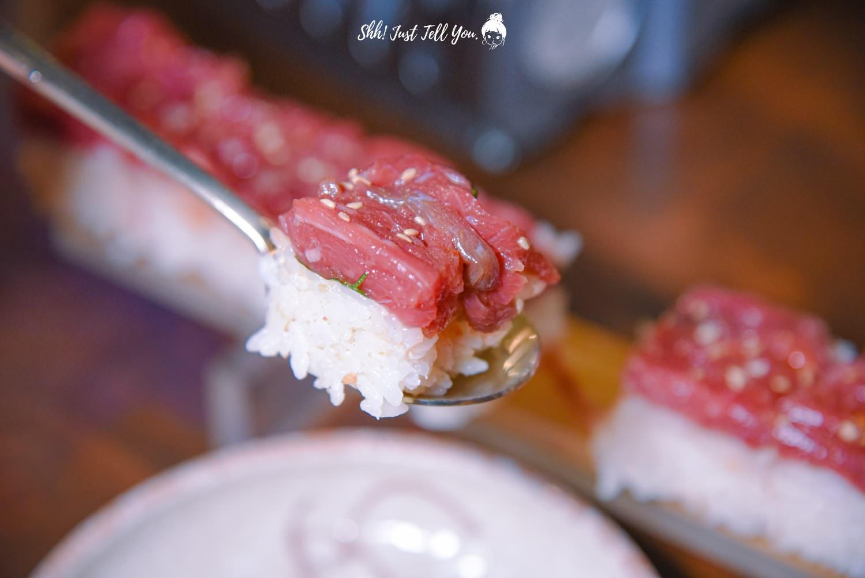 GOYONAM生牛肉壽司