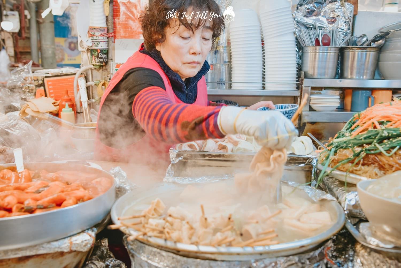韓國首爾廣藏市場