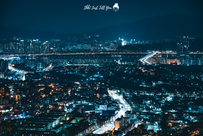 N首爾塔夜景