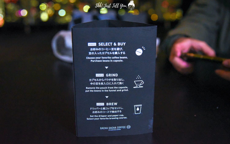 gacha gacha coffee咖啡豆扭蛋、森美術館 東京鐵塔夜景