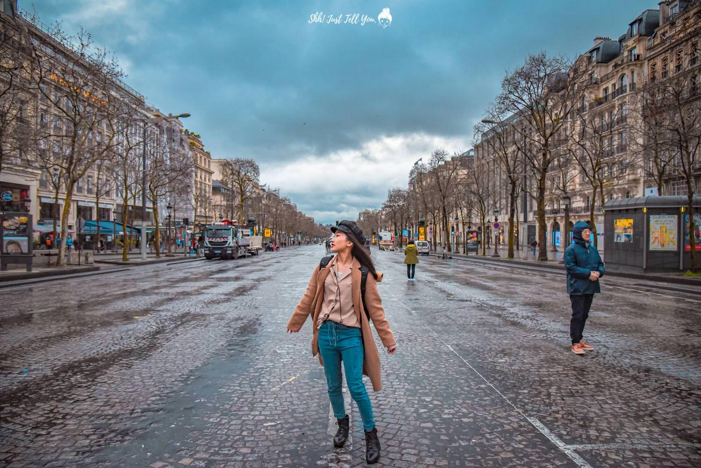 法國巴黎香榭麗舍大道