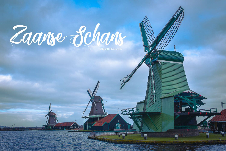 荷蘭(尼德蘭)桑斯安斯風車村 Zaanse Schans