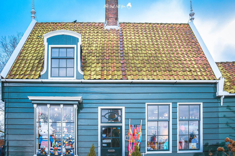 Typical dutch village, Zaanse Schans