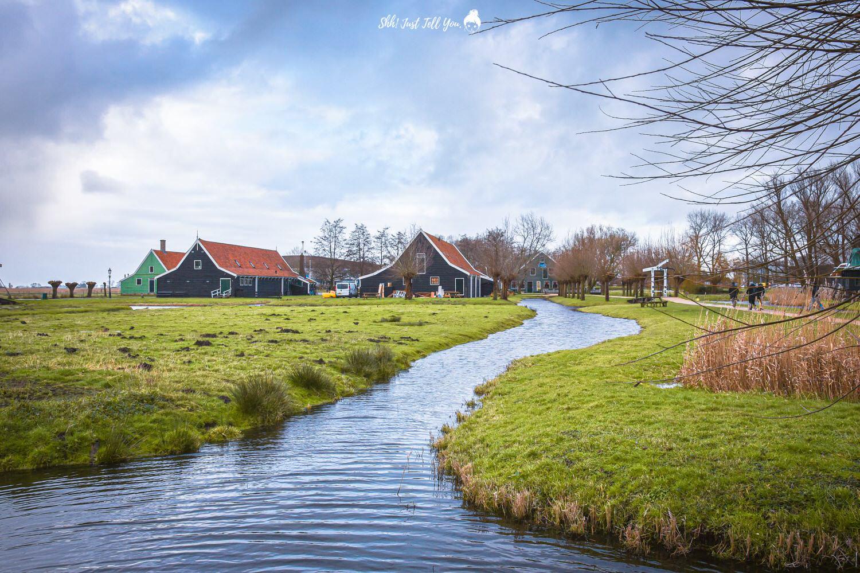 荷蘭(尼德蘭)桑斯安斯風車村Zaanse Schans