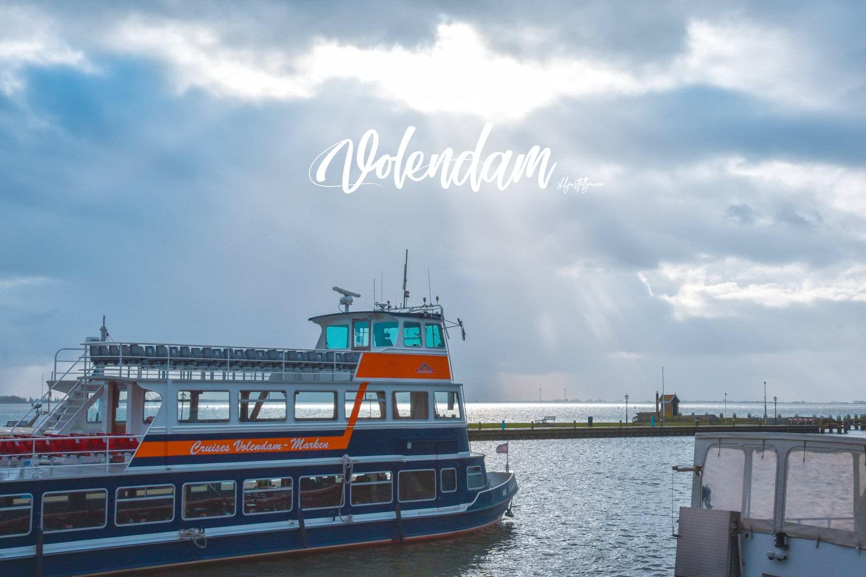 尼德蘭(荷蘭)沃倫丹北海漁村