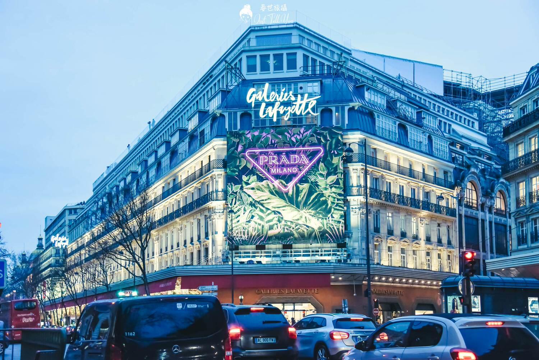 法國巴黎老佛爺百貨 拉法葉百貨