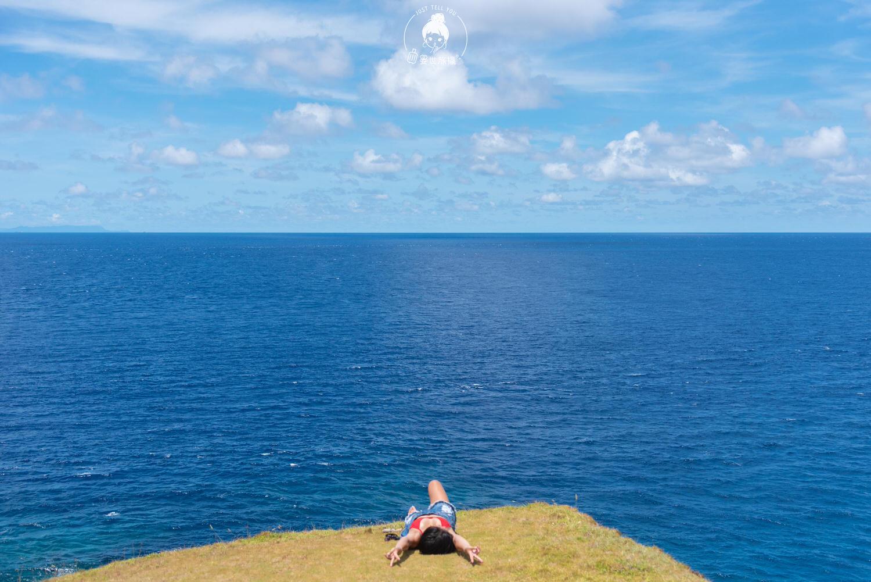 台東、綠島 到朝日溫泉不泡海底溫泉只走帆船鼻步道