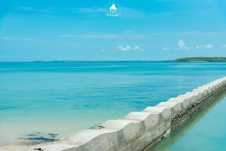 澎湖、白沙|至可愛的波浪海提坐看海水漲潮時