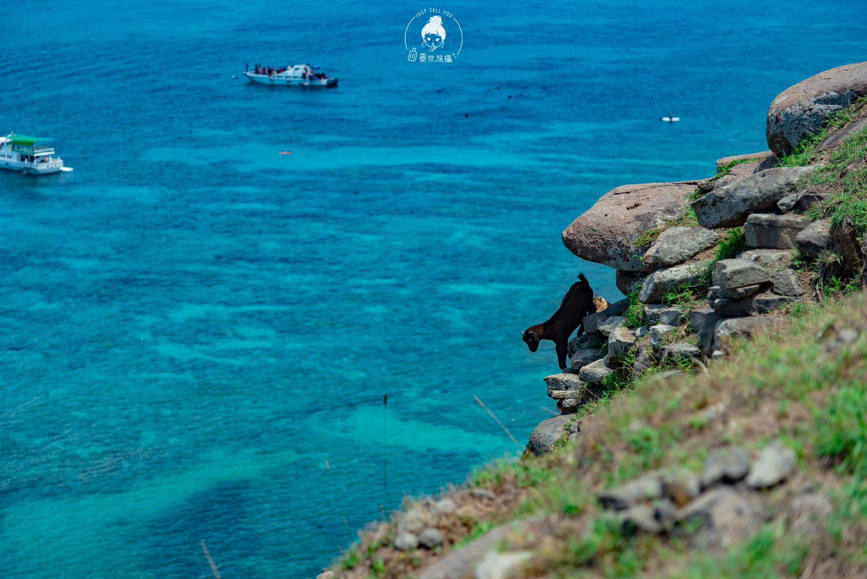 澎湖、望安|雖不艱難卻也不輕鬆登上東嶼坪小丘
