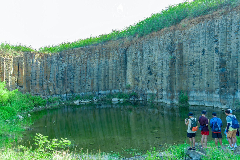 澎湖、西嶼 三石壁,大菓葉附近的玄武岩秘境