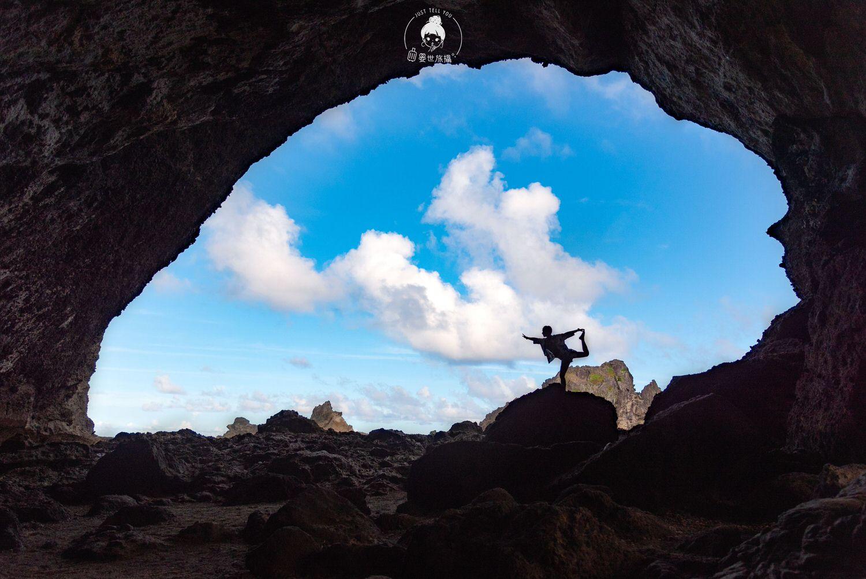 台東、綠島|走進彎弓洞用絕美的藍眼睛看綠島