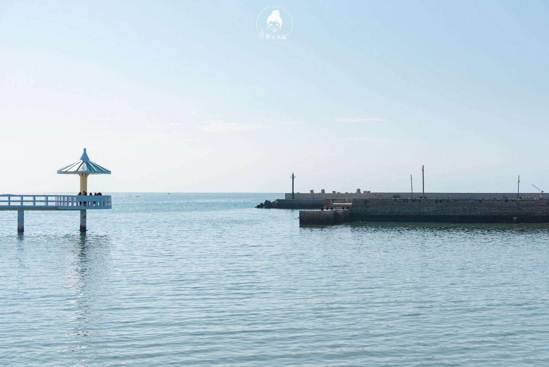 澎湖、西嶼|小池角雙曲橋・漂流在海上的小蘑菇